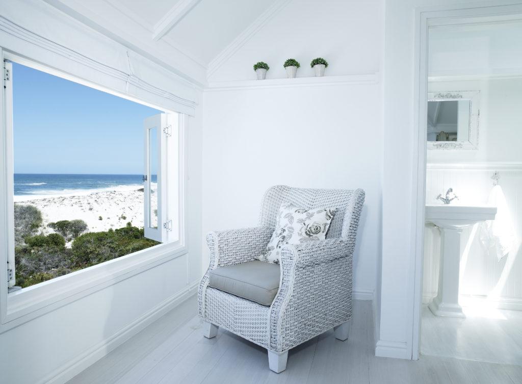 białe wnętrza - minimalizm