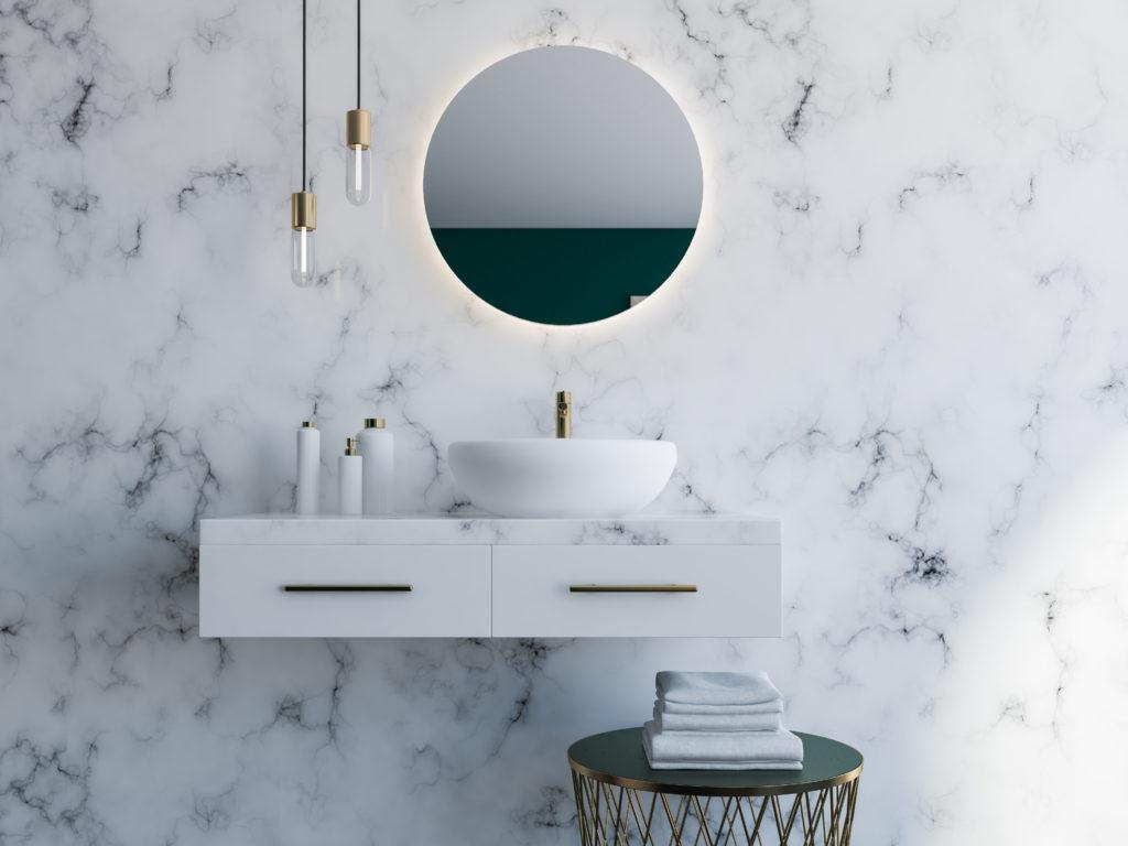 marmurowa łazienka 2020