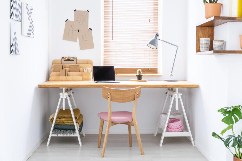 domowe biuro aranżacje