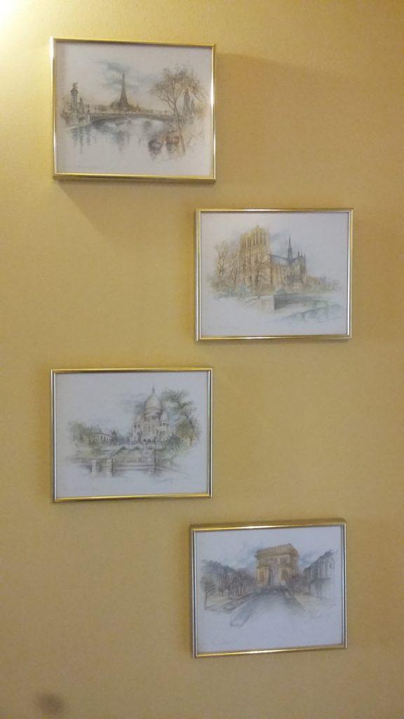 obrazy na ścianie akwarele
