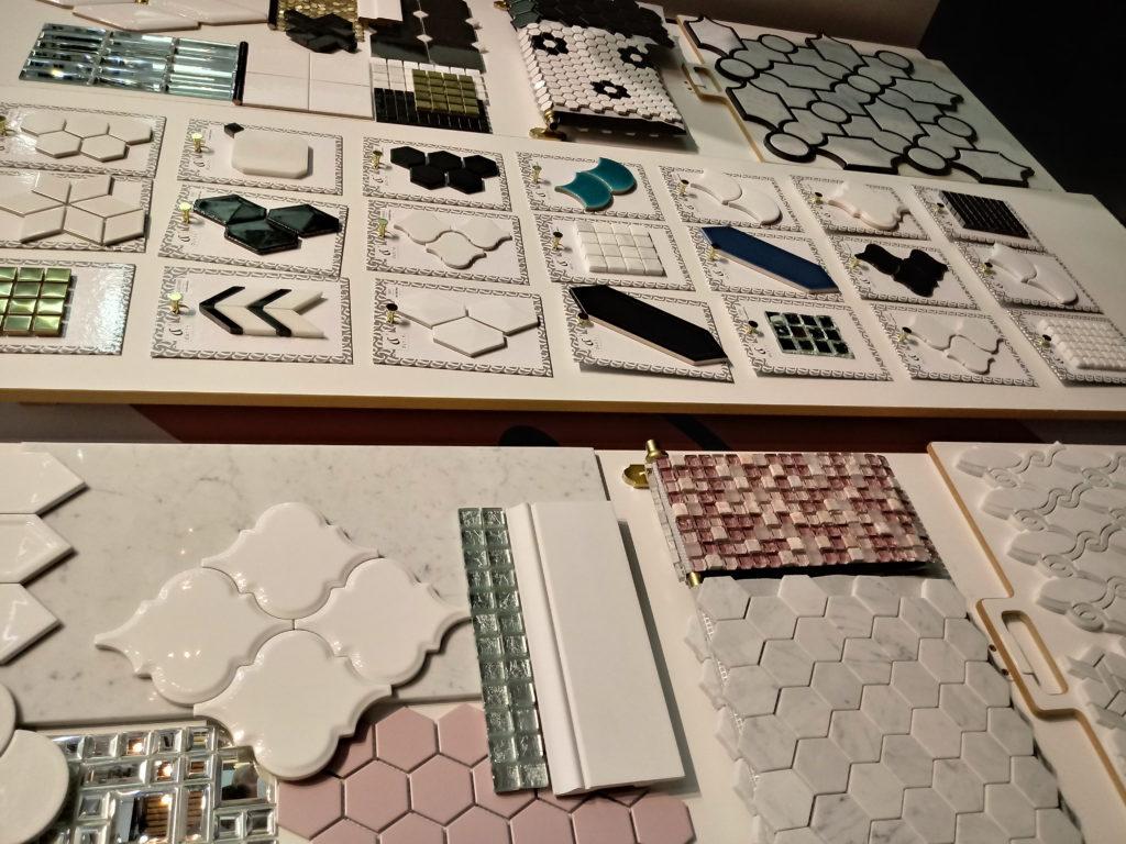 płytki i mozaiki ścienne
