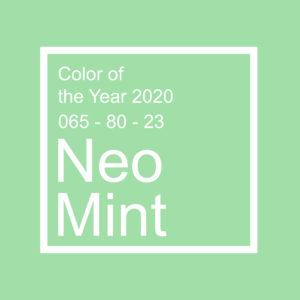 neo mint - kolor roku 2020